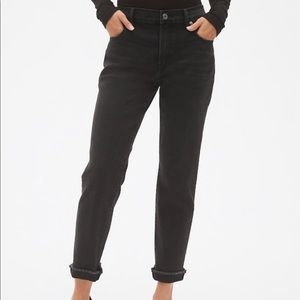 GAP the Best Girlfriend Black Jeans Size 26P